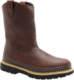 G4374 Georgia Giant Men's Safety Boots - Brown