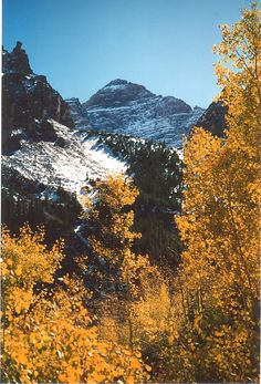 Fall in the Maroon Bells