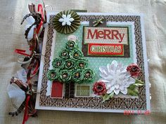 Scrapbooking by Phyllis: Premade 12x12 Chipboard Christmas Scrapbook Album