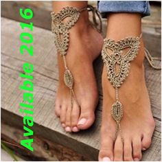 ARRIVED‼️ Adorable foot jewelry  Washable  Arriving Jan - Feb Accessories