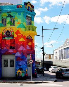 39 Awesome Works Of Street Art - Doozy List