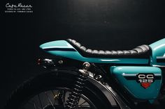 Customization project Honda CG 125 Cafe Racer 1980