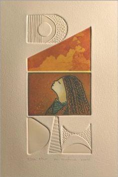 Her | My Work Engraving Printing, Engraving Art, Baby Laden, Visual Design, Linocut Prints, Art Prints, Collagraph Printmaking, Frank Cho, Illustrations