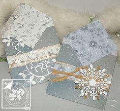 Geschenkumschläge mit dem Envelope Board von Joy!Crafts http://billes-bastelblog.blogspot.de/2016/11/vor-messe-impressionen.html Viele Bastelgrüße Bille