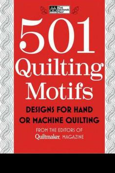 501 quilting motif book