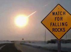 Attention, météorites !