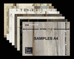 8 samples A4 (± US Letter) in an enveloppe. Designs included arePHE-01 thru PHE-08.  All samples are offered at...