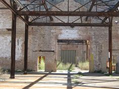 The old Pullman factory in the historic Pullman neighborhood of Chicago Chicago Neighborhoods, Chicago City, Old Trains, My Kind Of Town, Industrial Living, Factories, Travel Scrapbook, Lofts, Bricks