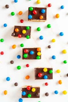 Salted Caramel M&Ms Multimillionaire Marshmallow Bars - The Sweet Rebellion Fun Baking Recipes, Sweet Recipes, Dessert Recipes, Desserts, Baking Store, Baking Tins, Chocolate Topping, Love Chocolate, Postres