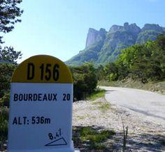 D156 in de Drôme