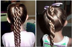 peinados para nenas faciles de hacer