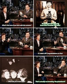 Paul McCartney on Jimmy Fallon. And this is why I am in love with Paul MCCartney Beatles Funny, Les Beatles, Beatles Quotes, Ringo Starr, John Lennon, George Harrison, Alternative Rock, Funny Memes, Hilarious