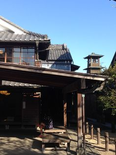 Japanese house in Hon-Kawagoe (本川越) It is actually a museum where people can look inside the house.
