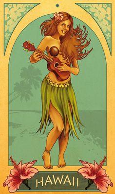 Hawaii by ~Moshydream on deviantART: