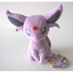 Pokemon 2012 Espeon Takara Tomy Plush Toy