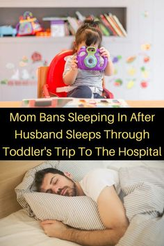 """Mom Bans Sleeping In After Husband Sleeps Through Toddler's Trip To The Hospital Sleeping in is an incredible luxury, but it's exactly that: a luxury. There's nothing quite like having zero responsibilities on a Saturday morning and just staying cozy and dozy for hours in bed. But the key there is """"zero responsibilities."""" Wood Entertainment Center, Girl Fashion, Fashion Outfits, Toddler Travel, Cardigan Outfits, Saturday Morning, Couple Goals, Cute Couples, Trendy Outfits"""