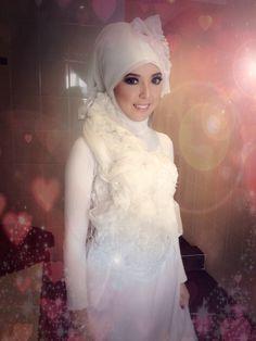 my prewedding hijab style