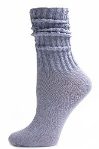 Lilac Cotton Slouch Socks - 1 Pair - Light Purple by Alabama Wholesale. $2.95. Want something more than your basic white sock? Try our Lilac Cotton Slouch Socks for a pretty yet stylish look! These socks are made of 100% lightweight cotton and have a cushioned bottom for extra comfort. Their extra slouchy crew length and pretty pastel purple color make them a great fit with your jeans or workout wear. One Size Fits All. Made in the USA.. Save 13% Off!