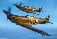 Stunning, pin-sharp images of the final 55 airworthy Spitfires