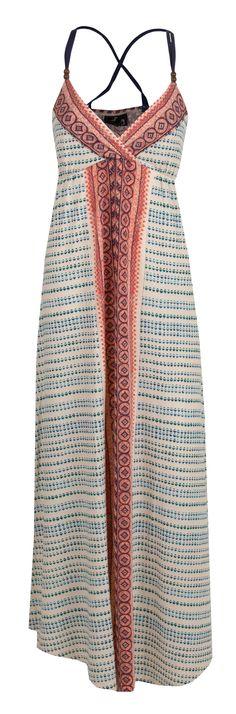 Angie Bohemian Maxi Dress