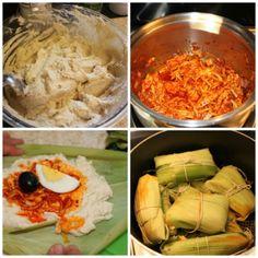 #Receta: Tamales peruanos de pollo #MasecaNosGusta #food