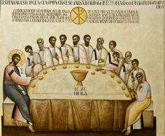 Last Supper by Ioan Popa