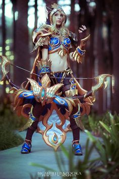Lady Sylvanas Windrunner, Blood Elf Skin from Heroes of the Storm by Swansel taken at BlizzCon