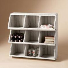 Yarn storage? Stackable chicken coup bin