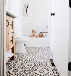 This floral bathroom tile is so pretty! - M Loves M M Loves M - This floral bathroom tile is so pretty! – M Loves M M Loves M This floral bathroom tile is so pretty! – M Loves M M Loves M Bathroom Floor Tiles, Bathroom Renos, Modern Bathroom, Remodel Bathroom, Bathroom Remodeling, Bathroom Inspo, Dyi Bathroom, Tub Remodel, Minimalist Bathroom