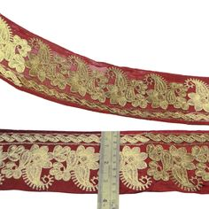 Crafting Fabric Trim Red Sewing Border Traditional 8.89 Cm Wide By The Yard: Amazon.co.uk: Kitchen & Home Crafting, Yard, Traditional, Amazon, Sewing, Creative, Kitchen, Fabric, Accessories