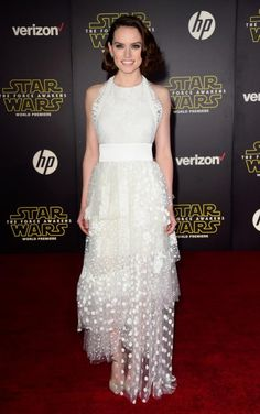 Daisy Ridley Star Wars premiere