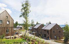 Vesnice je soběstačná, pokud jde o elektrickou energii, ale také o potraviny.