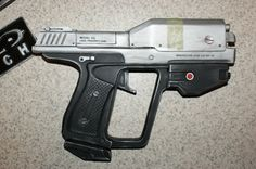 Halo Reach Magnum Replica prop by on Etsy Halo Game, Halo 3, Unsc Halo, Halo Cosplay, Halo Armor, Lego Guns, Halo Master Chief, Halo Reach, Video Game Memes
