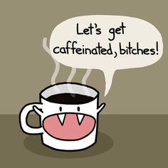 My coffee's got attitude. I like that. #coffee #caffeine #java #ilovecoffee #addicted #addictedtocoffee #gottahaveit #drinkitup #cheers #morning #goodmorning #wakeup #letsdothis #getoutofbed #alarmclock #coffeebeans #herewego #attitude #coffeecup #cup #mycuprunnethover #lol #growl