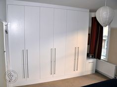 fitted wardrobes - FormCreations:made to measure built in and fitted wardrobes,alcove cabinets,shelving,TV media units and storage solutions. Alcove Shelving, Cabinet Shelving, Tall Cabinet Storage, Diy Built In Wardrobes, Fitted Wardrobes, Alcove Cabinets, Fitted Bedrooms, Build A Closet, Bedroom Wardrobe