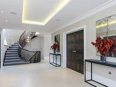 Entrance Landing Feature Wall