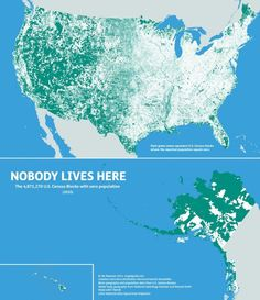 13. Parts Of The U.S. Where Nobody Lives