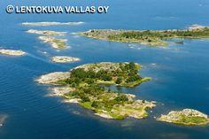 Rauman edustan saaristoa Ilmakuva: Lentokuva Vallas Oy