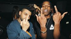 The Weeknd and A$AP