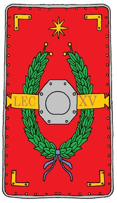 Roman Legionary Shield Legion 15 Apollinaris