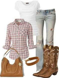 Cute n country, mode country, cute country outfits, western outfits, Country Girl Outfits, Country Girl Style, Country Fashion, Cowgirl Outfits, Country Girls, Cowgirl Fashion, Estilo Fashion, Look Fashion, Autumn Fashion
