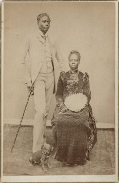 Photographer Herzekiah André Shanu (°1858 - †1905)  Depicted persons Gerald Izëdro Marie Samuel (°1858 - †1913)  Place of production Democra...