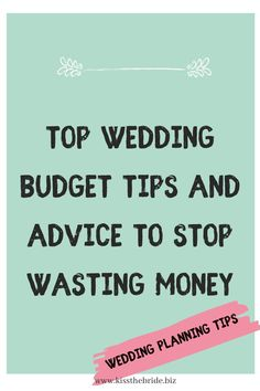 Get the best wedding tips and wedding budget advice so you can get control over the cost of your wedding #weddingbudgetadvice Wedding Budget List, Wedding To Do List, Wedding Planning On A Budget, Wedding Costs, Wedding Advice, Free Wedding, Wedding Ideas, Bridesmaid Checklist, Wedding Checklists