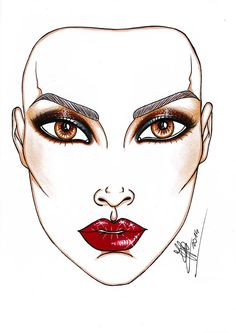 Occhi da gatto e labbra ad alto tasso di seduzione. Il nostro fashion editor Franco Lorenzon vi propone il maquillage più glam per la notte più hot.