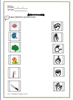 Education, Math, Words, Animal, Writing Activities, Abc Centers, Sign Language, Classroom, Math Resources