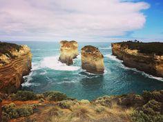 Drie dagen Great Ocean Road met dit als één van vele uitzichten  #greatoceanroad #australia #victoria #backpacking #roadtrip by timverp