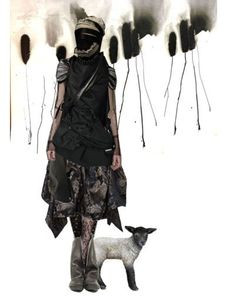 Love the boots.  #fashion #future #utopia #dystopia