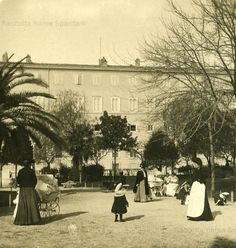 Giardino del Quirinale 1900