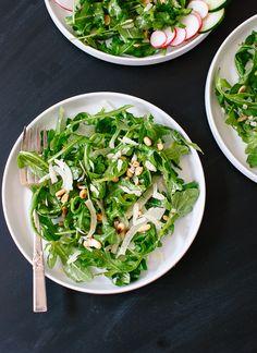 Arugula, Fennel and Pine Nut Salad