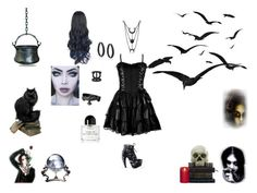 """Witchy Woman"" by browncoat4ever ❤ liked on Polyvore featuring Mirage, Bling Jewelry, Loungefly and Byredo"